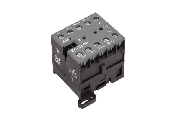 Schütz, B6-22-00-230VAC, 2 Öffner, 2 Schließer