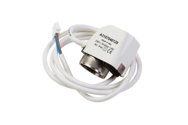 Thermoelektrischer Stellantrieb für Kaltwasserkassette KaCool D AF, 2-Pkt, 230V NC