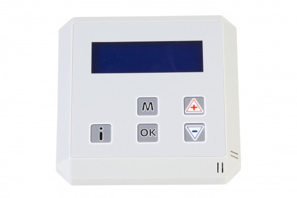 Uhrenthermostat für Warmlufterzeuger, Typ Gaslow
