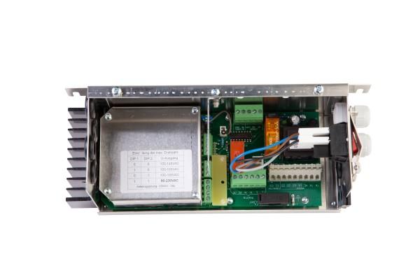 Leistungsmodul stufenlos 230VAC, 1,8A, mit Rep.-Schalter, IP21