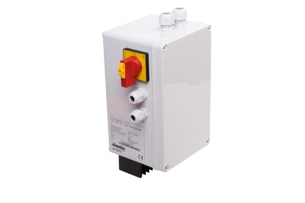 Leistungsmodul stufenlos 230VAC, 1,8A, mit Rep.-Schalter, IP65