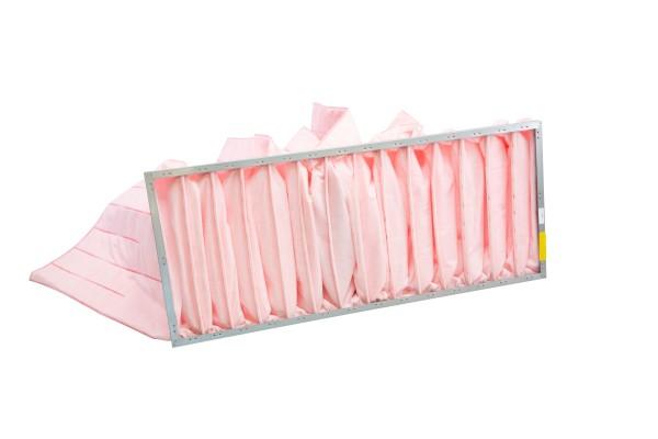 Taschenfilter für Airblock FG, Baugröße 10, Filterklasse F7