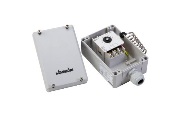 Industriethermostat 30058 Sollwerteinstellung nur mit Werkzeug